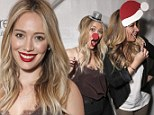 Hilary and Haylie Duff at Switch Boutique