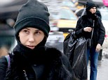 What have you bin doing? Girls star Zosia Mamet carries black bag on her arm as she goes for a stroll in New York