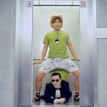 Gangnam Style Fahrstuhl