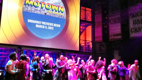 Berry Gordy Jr. is coming back, to share the music of Motown with Motown the Musical.