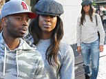 Newly engaged Kelly Rowland hits the Grove with manager-turned-fiancé Tim Witherspoon