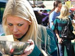 Spicing up their love life? Tara Reid and boyfriend Erez Eisen casually canoodle at farmers market
