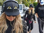 Fergie shows off her slender post-baby body as she and Josh Duhamel enjoy a hike in the Los Angeles sunshine