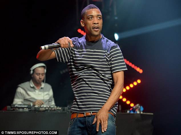 Causing a heatwave? Grime artist Wiley raised the tempo as he took to the stage in front of the Radio 1 crowd
