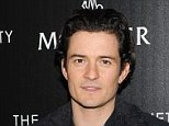 Still believes: Orlando Bloom revealed that he is 'completely in love with the idea of love'