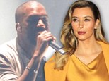 Kanye West 'shells out $250K' for Kim's 'glam squad' while she accompanies him on Yeezus tour