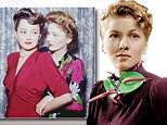 Long feud: Sisters Olivia de Havilland and Joan Fontaine were born just 15 months apart