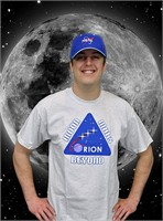 Orion Moon, Mars & Beyond T-Shirt