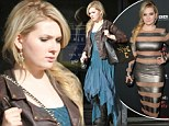 Little Miss Rock 'N Roll: Abigail Breslin goes grunge in flowy blue frock and lace-up boots while shopping... after risque turn at premiere