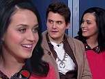 Katy Perry and John Mayer open up on their relationship, first date and making a music video just to see each other in joint TV interview