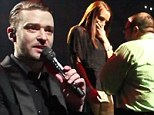 Isn't it romantic? Watch matchmaker Justin Timberlake stop a concert to help a fan propose to his girlfriend