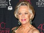 All wet: Hollywood legend Tippi Hedren (here in 2013) won a suit Monday that began when a gallon of water fell on her head rehearsing on a San Diego sound stage