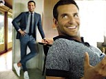Man about town: Bradley Cooper now feels confident in his acting ability
