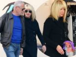 Suzanne Somers and longtime husband Alan Hamel take time out of their busy sex lives for an afternoon stroll in Malibu together