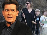 Charlie Sheen 'WON'T be held in contempt' for violating gag order in custody case... and 'will be granted monitored visitations' with twins