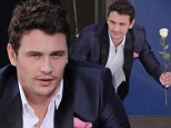 Would this make you buy a car? James Franco dangles from harness and carries a white rose for new Ford commercial