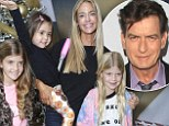 Getting revenge? Charlie Sheen, angry he can't see his daughters on Christmas, wants to reduce ex Denise Richards' $55K a month child support payments