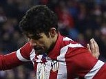 Finished: Costa scores against Valencia at the weekend, and is hot property across the continent