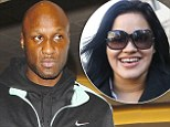 Lamar Odom 'spending the holidays with his ex wife Liza Morales after Khloe Kardashian's divorce filing'