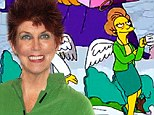 The Simpsons give Marcia Wallace heartwarming and extremely quick tribute during Christmas themed opening credits