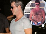Moob boost! Simon Cowell's pumped up chest sparks rumours he may have had pec implants