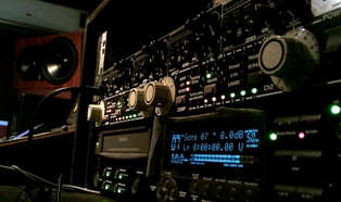 console mastering studio