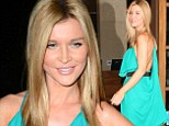 Real Housewives star Joanna Krupa brings Miami heat to Hollywood in a sizzling little green dress