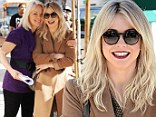 Precious! Julianne Hough and her mother Marianne shared a hug and a laugh at lunch at Urth Caffe in Los Angeles, California on Tuesday