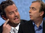 The One Where Matthew Perry Meets Peter Hitchens
