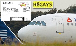 """A Delta Air Lines customer flying from Pensacola, Fla. to Albany, N.Y. says he was shocked earlier this month to find that the confirmation code on his boarding pass read as an anti-gay slur: """"H8GAYS.""""  Jeff White, a student at the University of West Florida, told the Washington Post that he was initially shocked when he first read the confirmation code.  ?At first I didn?t think I read it right,? he said, according to The Telegraph. ?I was worried that another customer might think I somehow picked that code. If I were a gay male, I might have thought that a Delta worker purposely gave me that code, and that would have made me extremely uncomfortable.?  Following the incident, Delta Air Lines went on to apologize for any ?concern or misunderstanding,"""" explaining that the codes are computer generated, TIME is reporting.  White, however, stated that he was surprised Delta officials had not blocked the offending combination of letters and numbers from the company's system. ?I?m sure they"""