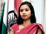 Devyani Khobragade was arrested as she dropped her daughter off at school in New York City last Thursday