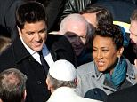 Josh Elliott and Robin Roberts met Pope Francis during his final public audience of the year today