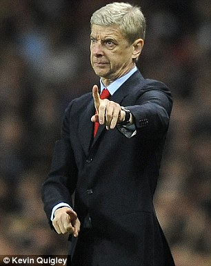 Making his point: Wenger believes Szczesny deserves more credit