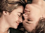 'One sick love story': Ailing Shailene Woodley and Ansel Elgort cuddle close in the new poster for The Fault in Our Stars while fans find fault with the tagline