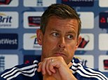 Waiting in the wings: Ashley Giles is currently England's limited-overs coach and could take over the top job