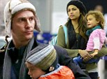 One hot family! Matthew McConaughey, Camila Alves and kids bring the heat to the cold streets of New York