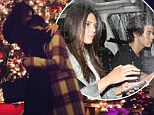 Alone for the holidays? Kendall Jenner embraces sister Kylie under Christmas tree, but beau Harry Styles is missing in action