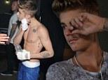 Bieber movie puff
