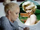 'Sometimes you wanna go old school!' Britney Spears morphs into her idol Marilyn Monroe with platinum hair