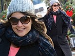 'You have made my day!': Katie Holmes thanks fans for their well wishes on her 35th birthday as she celebrates milestone by going to lunch with a friend
