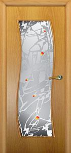 Дверь межкомнатная Модерн - Хаки С39