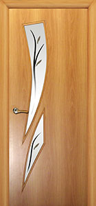 Дверь межкомнатная Сакура - Клен С8
