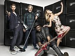 Kylie Minogue and Ricky Wilson make it official: The Voice releases first promotional photograph of new judges