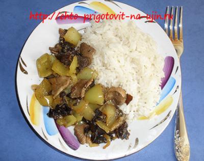 Мой фирменный рецепт мяса с овощами по-китайски