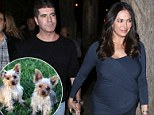 cowell and lauren and dogs