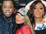Kordell Stewart strikes a low blow at Porsha Williams by getting cosy with Towanda Braxton at the Grudge Match screening