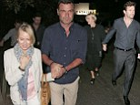 Naomi Watts and Liev Schreiber head out for dinner with Hugh Jackman after they arrive back in Sydney for Christmas