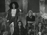 Getting in touch with their serious sides: Little Mix have taken inspiration from Christina Aguilera's Beautiful for their new video Little Me