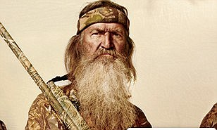 Louisiana Governor Bobby Jindal appeared to defend Robertson today saying: 'it's a messed-up situation when Miley Cyrus gets a laugh, and Phil Robertson gets suspended'
