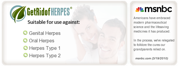 Herpes Natural Remedy to Get Rid of Herpes Outbreaks